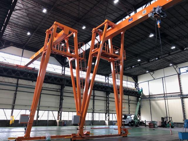 日本ホイスト・クレーン設置工事のご紹介